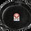 Thumbnail: 55 cm geëmailleerde paellapan