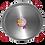 Thumbnail: 100cm Paella Pan van Gepolijst Staal