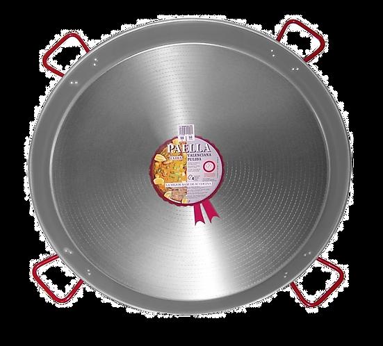 100cm Paella Pan van Gepolijst Staal