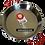 Thumbnail: 28 cm Paella Pan van Gepolijst Staal