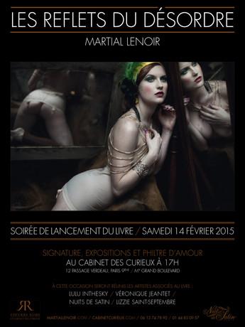 2015 - Cabinet des Curieux : Lancement du livre Les Reflets du Désordre - Paris