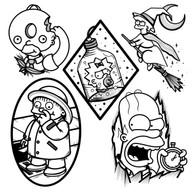 Simpsons Halloween Flash