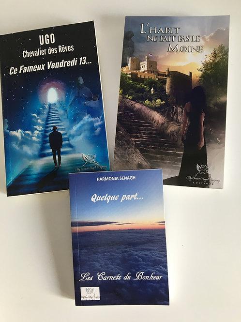 Pack : Ugo Chevalier des Rêves 1 et 2 + Quelque part...