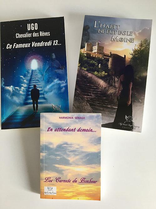 Pack : Ugo Chevalier des Rêves 1 et 2 + En attendant demain...