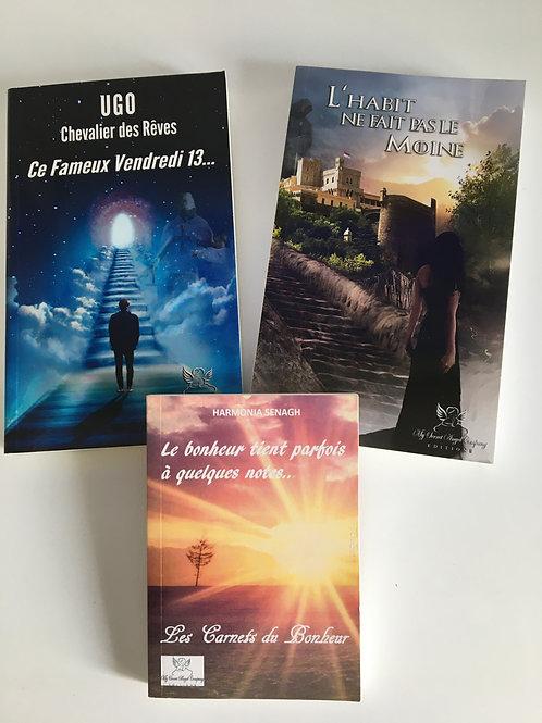 Pack : Ugo Chevalier des Rêves 1 et 2 + Le bonheur tient parfois...