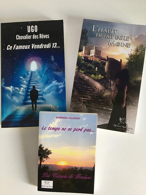 Pack : Ugo Chevalier des Rêves 1 et 2 + Le temps ne se perd pas...