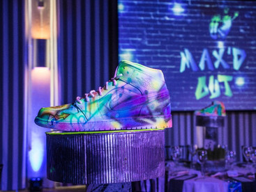 Throwback Sneaker Head Bar Mitzvah in Portland, Oregon