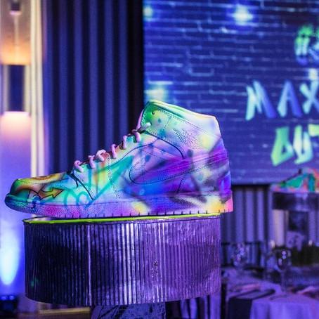 Throwback Sneaker Head Bar Mitzvah in Portland, Oregon