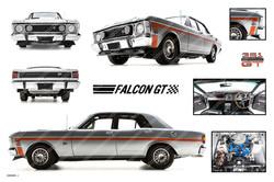 Ford GT Super Roo Falcon
