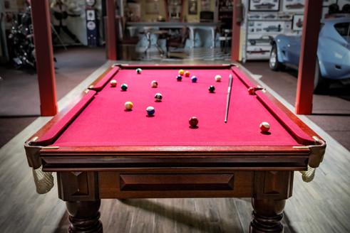 Pool Hall - Pool table scene