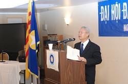 Dc Hà Thế Riệt ở Đại hội 9-2009