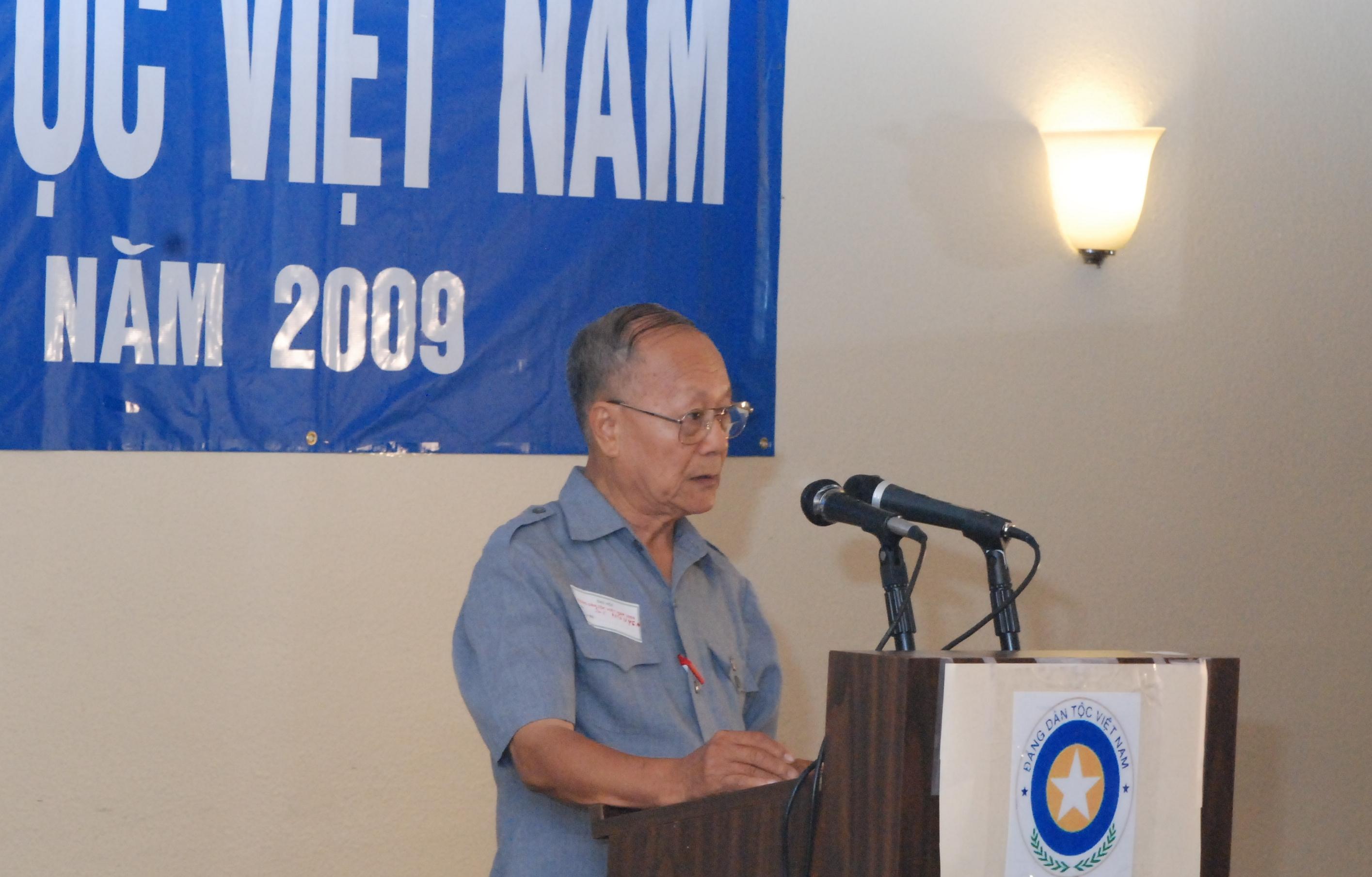 Dc Nguyen Van Si - Dai hoi 9-2009