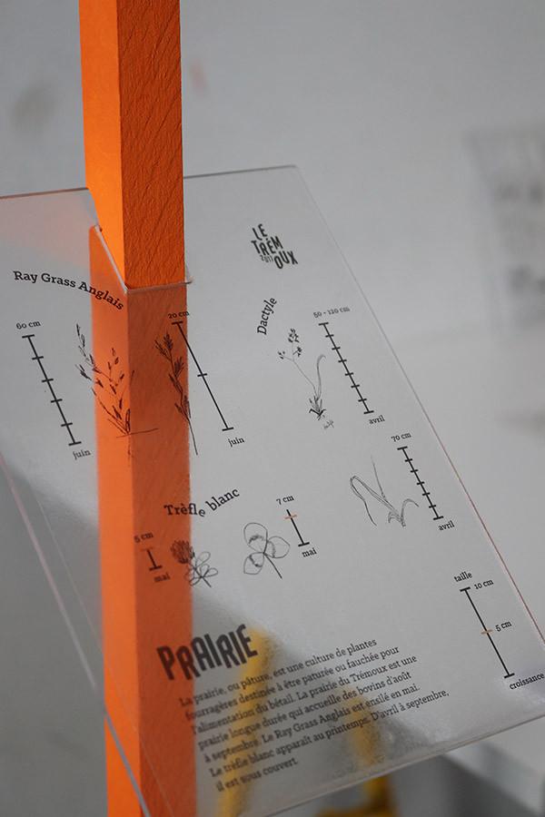 Signalétique pérenne, prototype