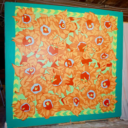 Subspace Flower Mural