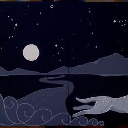 Ghost of Artemis Mural