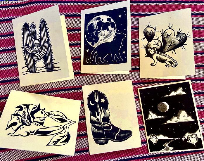 Desert Notecards