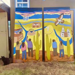 Nosotros Academy Mural