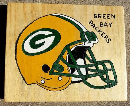 Green Bay Helmet