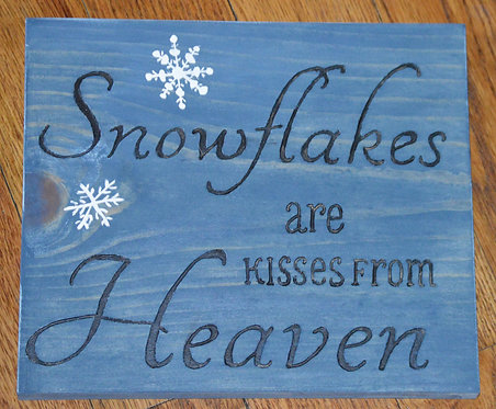 Snowflakes from Heaven