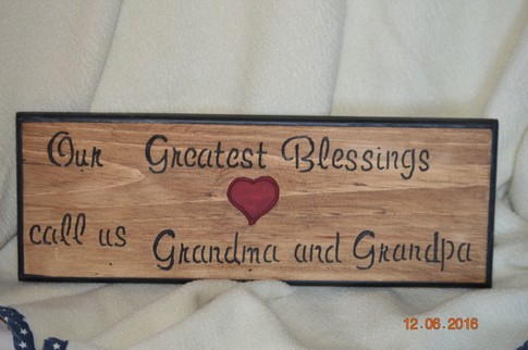 Custom Wood Signs by Penny Berry, Harvard, IL
