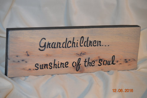 Grandchildren, Sunshine of the Soul