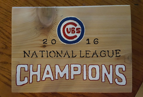 2016 National Champs Cubs