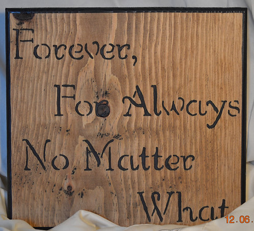 Forever no Matter What