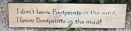 Footprints/ bootprints