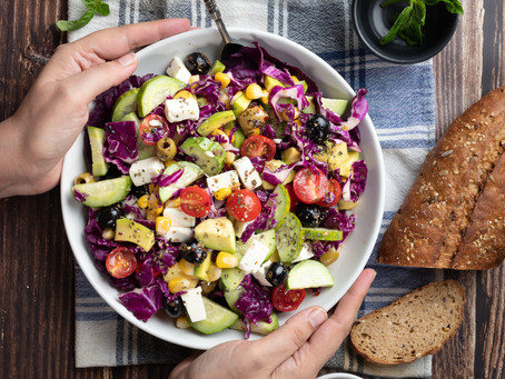 My Photographic Story : Salad Shot