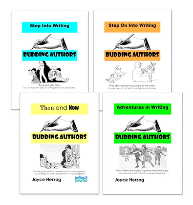 Budding Authors Elementary Bundle