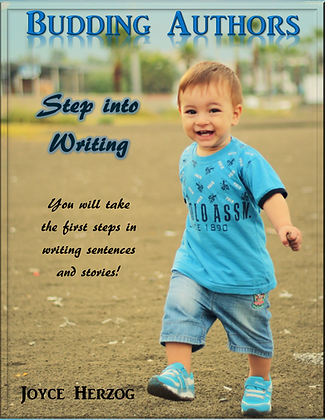 Budding Authors: Step Into Writing