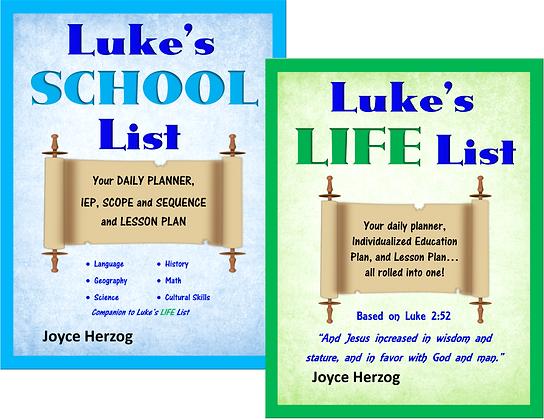 Luke's Life and School Lists