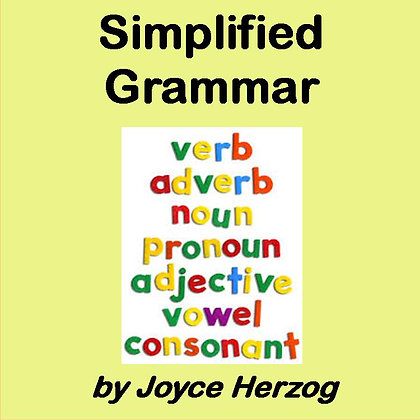 Simplified Grammar audio seminar