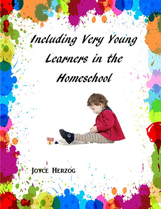 Including Very Young Learners in the Homeschool