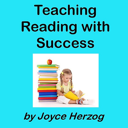 Teaching Reading with Success audio seminar