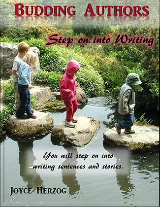 Budding Authors: Step On Into Writing