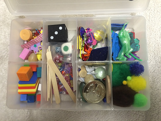 """School in a Box"" Learning Through Play Tool!"