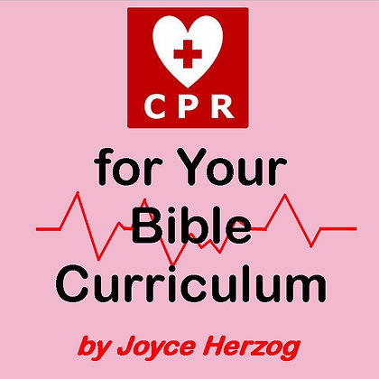 CPR for Your Bible Curriculum audio seminar