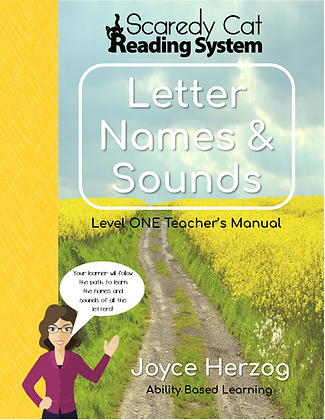 Scaredy Cat Reading System, Level 1