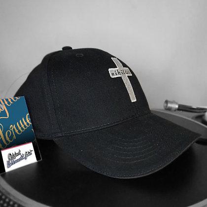 Black and White Baseball Cap
