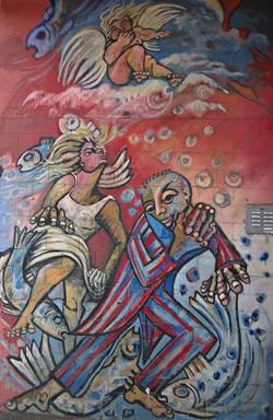 Street Art I Graffiti I Mural  Lifestyle I Kiefernstraße I Samara Blue Photo Art I Klaus Klinger