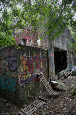 Bunker I Klärwerk I UrbexArt I Lost Place I Samara Blue Photo Art I Krefeld