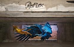 Down Town Gallery I Krefelder Perspektivenwechsel I Street Art I Samara Blue Photo Art I Ruben Ponci
