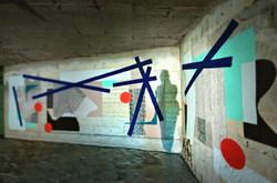Down Town Gallery I Krefelder Pespektivenwechsel I Street Art I Samara Blue I Betont.es I Bunker