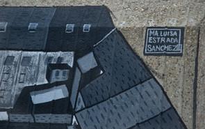 Streetart I Graffiti I  Mural I Silk City Gallery Krefeld 2021 I Samara Blue Urbexart I Luisa Estrada