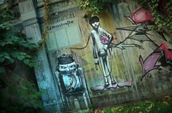 Street Art I Bochum I Urbex Art I Samara Blue Photo Art