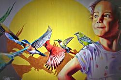 Down Town Gallery I Krefelder Perspektivenwechsel I Street Art I Samara Blue I Carlos Alberto