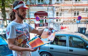 Streetart I Karsten Breidenbroich I MalKarsten I Kiefernstraße I Lifestyle I Urbex Art I Samara Blue
