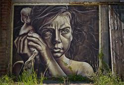 Wood Art Gallery I Krefelder Perspektivenwechsel I I Urbex Art I Samara Blue Photo Art I Street Art