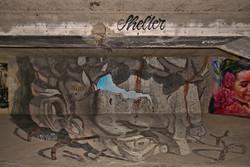 Down Town Gallery I Krefelder Perspektivenwechsel I Street Art I Samara Blue I Alex Maksiov